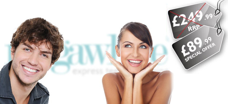 Megawhite Teeth Whitening pain-free
